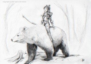 Githyanki on Bear