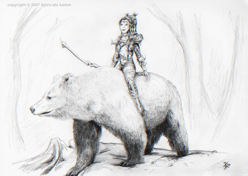 Githyanki on Bear