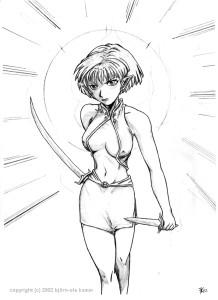 Shiraka Manga-style