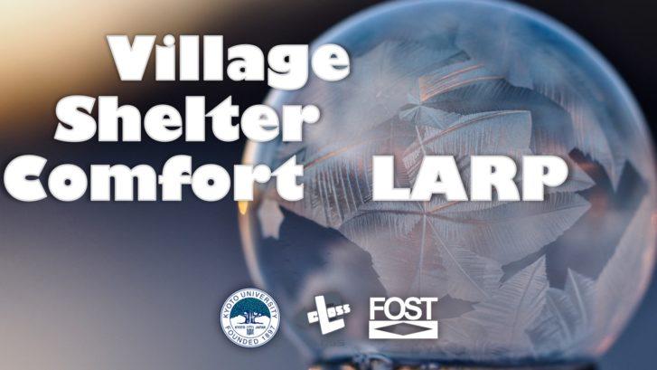 Village, Shelter, Comfort Larp 2017 KeyVisual