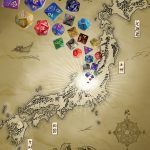 Role-Playing Games of Japan Book Cover: Dices and Japan