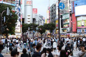 Pedestrian Tokyo